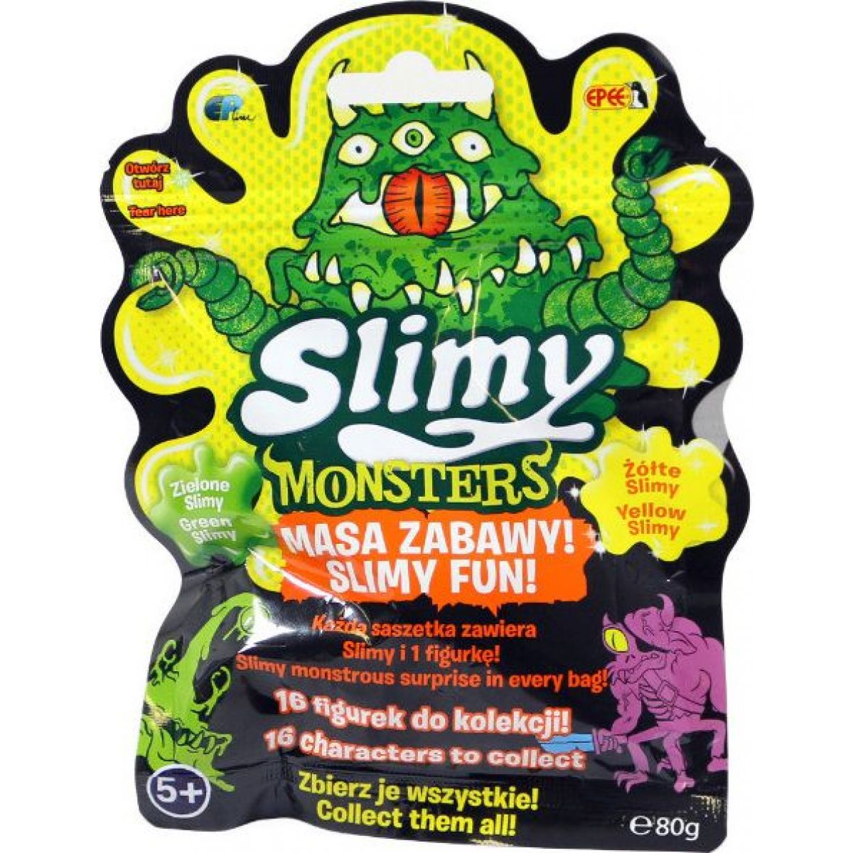 EP Line Slimy sliz Monsters sáček s figurkou