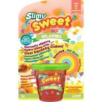 Slimy Sweet Splashies 180 g červený