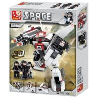 Sluban Stavebnice 3v1 Vesmírný robot