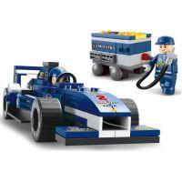 Sluban Stavebnice F1 Závodní auto 1:32 4