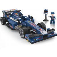 Sluban Stavebnice F1 Závodní auto modré 1:24 2