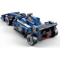 Sluban Stavebnice F1 Závodní auto modré 1:24 3