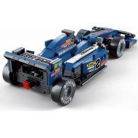 Sluban Stavebnice F1 Závodní auto modré 1:24 4