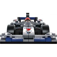 Sluban Stavebnice F1 Závodní auto stříbrné 1:24 4