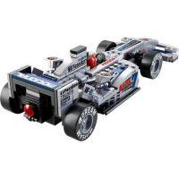 Sluban Stavebnice F1 Závodní auto stříbrné 1:24 5