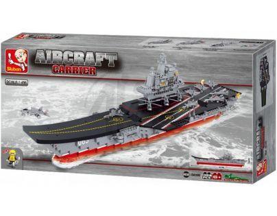 Sluban Stavebnice Letadlová loď