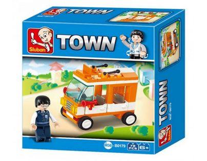 Sluban Stavebnice Mini Bus