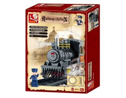 Sluban Stavebnice Parní lokomotiva