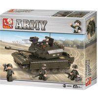 Sluban Stavebnice tank Abrams 312 dílků