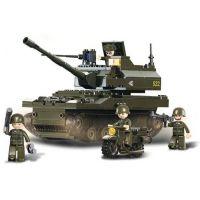 Sluban Stavebnice Tank K9 258D