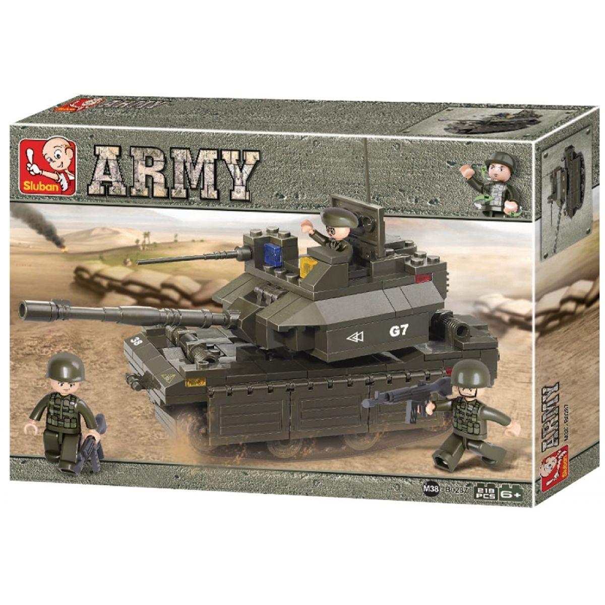 Sluban Stavebnice Tank M1A2 Abrams
