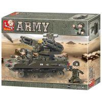 Sluban Stavebnice tank TOP-M1 212 dílků