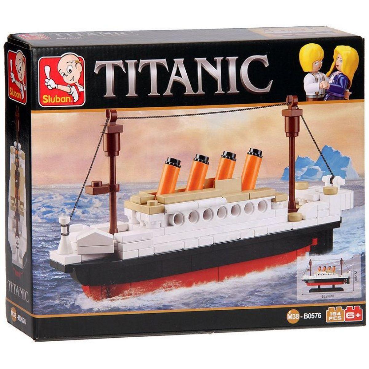 Sluban Stavebnice Titanic 194 dílků