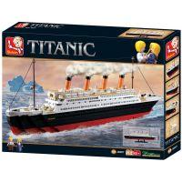 Sluban Stavebnice Titanic