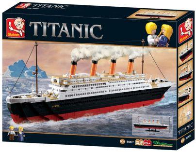 Sluban Stavebnice Titanic velký