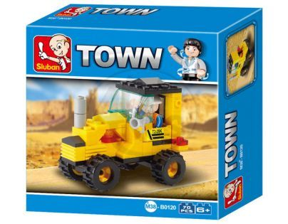 Sluban Stavebnice Traktor