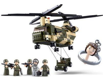 Sluban Stavebnice Transportní vrtulník