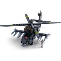 Sluban Stavebnice Vrtulník Apache 2