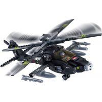 Sluban Stavebnice Vrtulník Apache 3