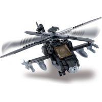 Sluban Stavebnice Vrtulník Apache 4