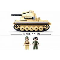 Sluban WWII Tank Panzzer II. 2