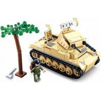 Sluban WWII Tank Panzzer II. 3