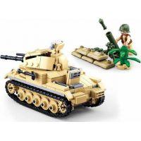 Sluban WWII Tank Panzzer II. 4