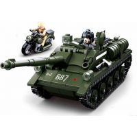 Sluban WWII Tank SU 85