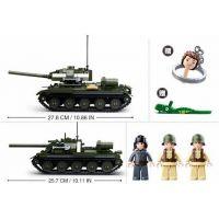 Sluban WWII Tank T34 nebo T85 2v1 2