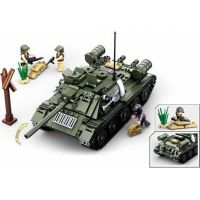 Sluban WWII Tank T34 nebo T85 2v1 3