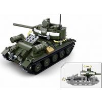 Sluban WWII Tank T34 nebo T85 2v1 4