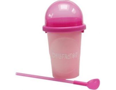 Slushy maker měnící barvu růžový