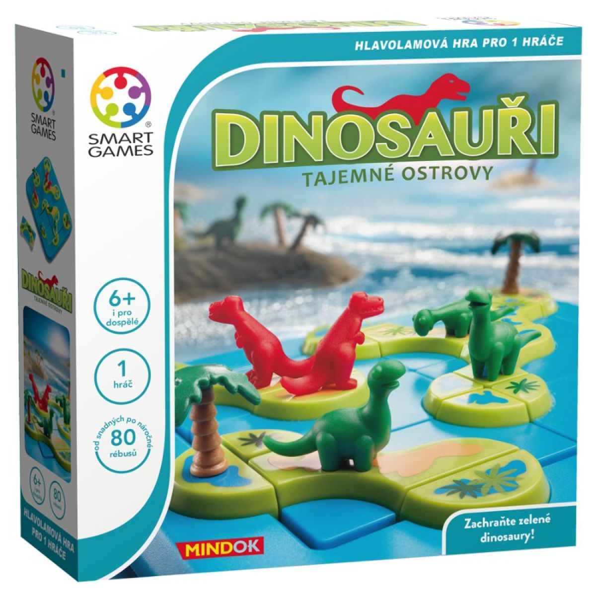 Smart Games Dinosauři Tajemné ostrovy