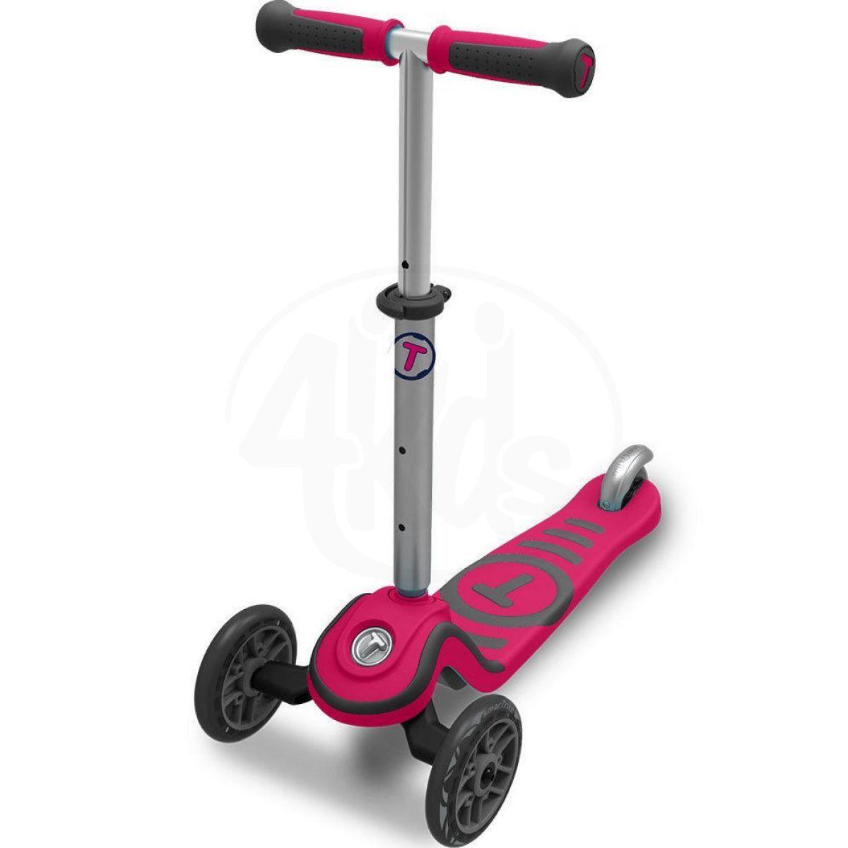 Smart Trike Koloběžka Scooter T1 růžová
