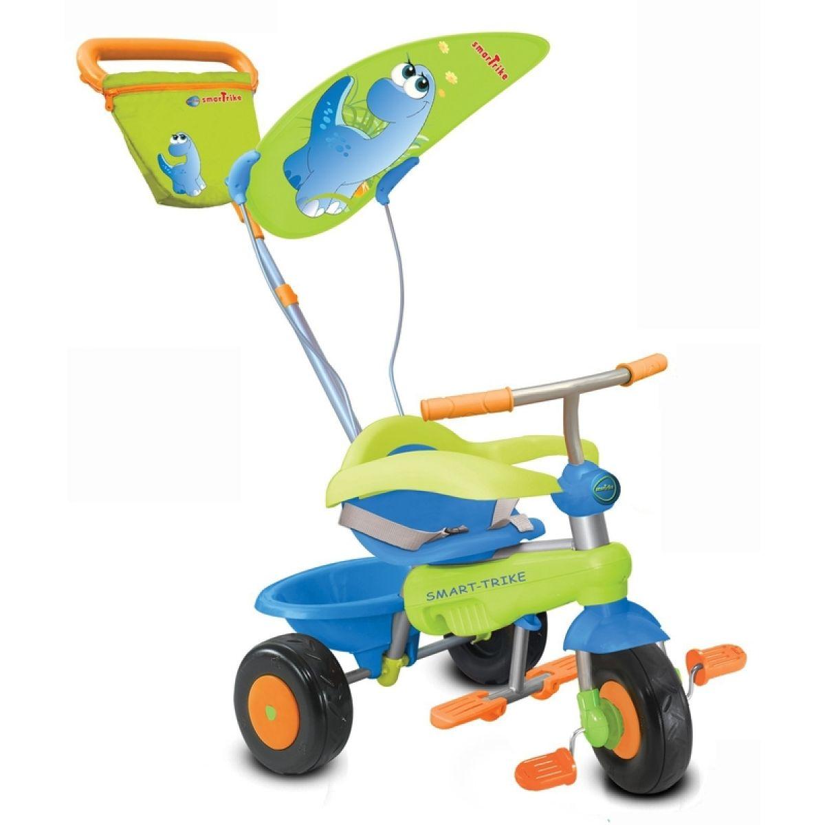 Smart Trike Tříkolka Candy Dino modro-zelená