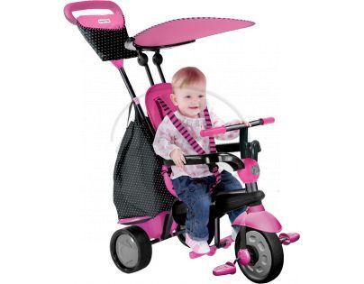 Smart Trike Tříkolka Glow 4v1 růžová