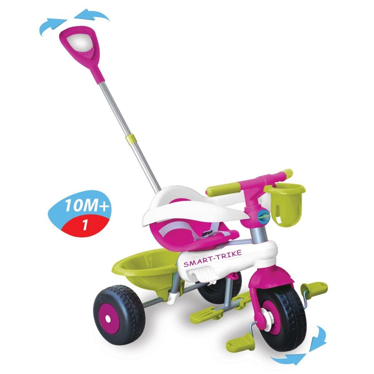 Tříkolka Lollipop fialovo-bílá Smart Trike