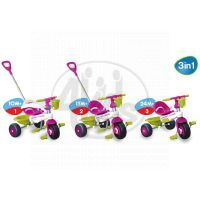 Tříkolka Lollipop fialovo-bílá Smart Trike 5
