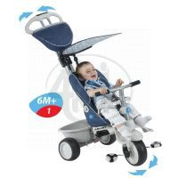 Smart Trike Tříkolka Recliner 4v1 modrošedá 2