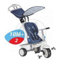 Smart Trike Tříkolka Recliner 4v1 modrošedá 4