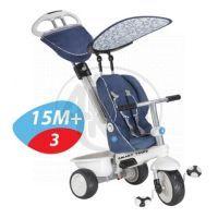 Smart Trike Tříkolka Recliner 4v1 modrošedá 5