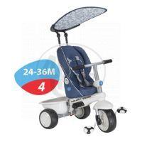 Smart Trike Tříkolka Recliner 4v1 modrošedá 6