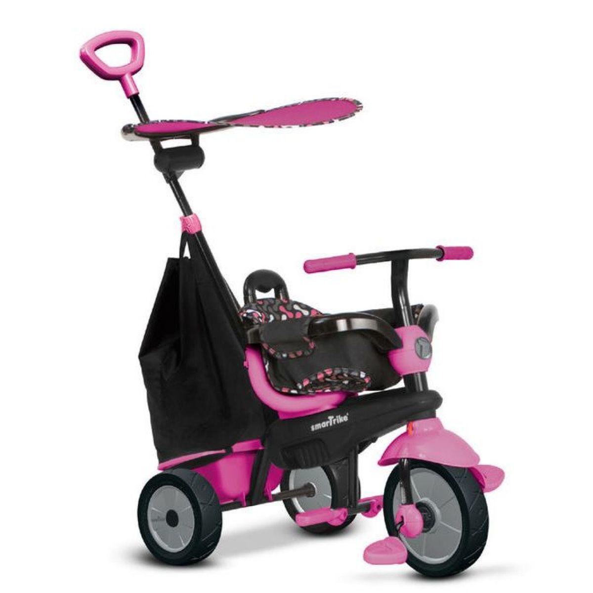 Smart Trike Tříkolka 3 v 1 Delight růžová