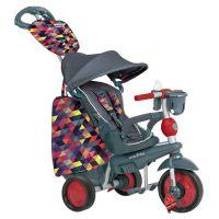 Smart Trike Tříkolka 4 v 1 Explorer šedá