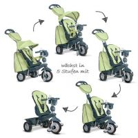 Smart Trike Tříkolka 4 v 1 Explorer zelená 2