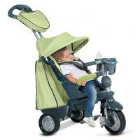 Smart Trike Tříkolka 4 v 1 Explorer zelená 4