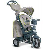 Smart Trike Tříkolka 5 v 1 Explorer Style šedá