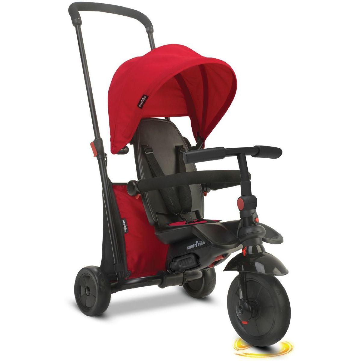 Smart Trike Tříkolka 7 v 1 Foliding Trike 400 červená