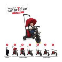 Smart Trike Tříkolka 7 v 1 Foliding Trike 400 červená 2