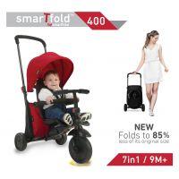 Smart Trike Tříkolka 7 v 1 Foliding Trike 400 červená 6